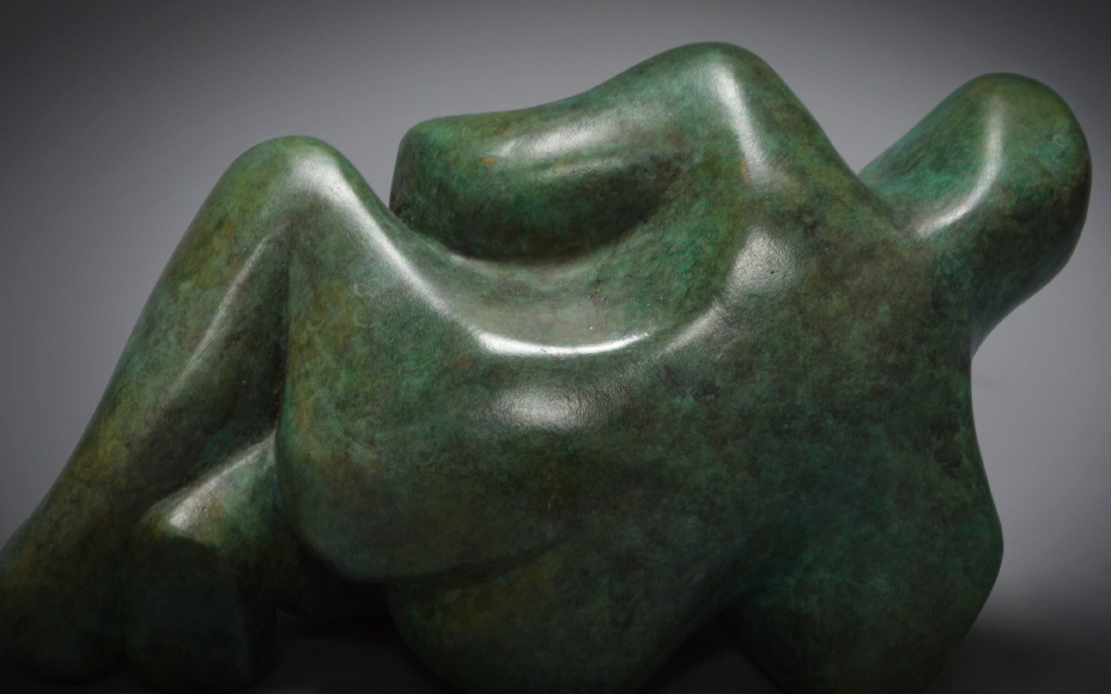 Reclining Lady by Deborah Harrison